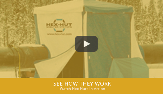 All tents have proper ventilation and heavy-duty exteriors so workers and weld in safety. View the video to see Hex-Hut welding tents in action. & Hex-Hut u2013 Welding Tents